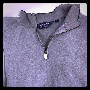 Polos Golf front zipper sweater like new